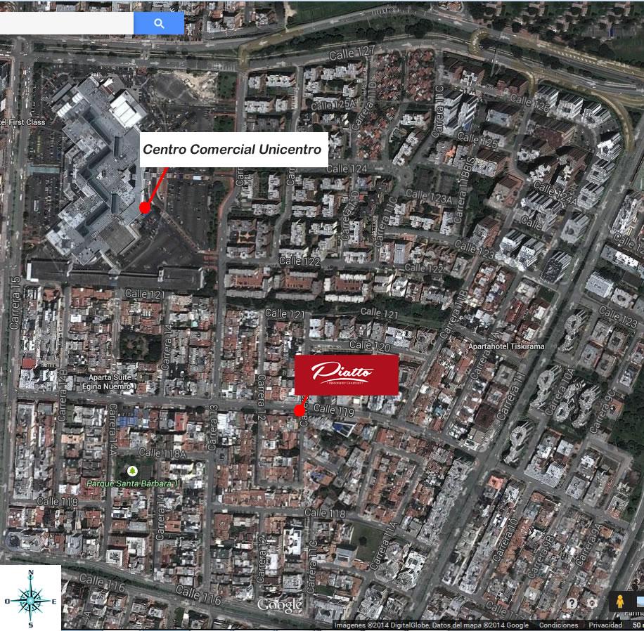 Restaurante italiano norte bogot santa barbara cerca usaquen for Barrio ciudad jardin norte bogota