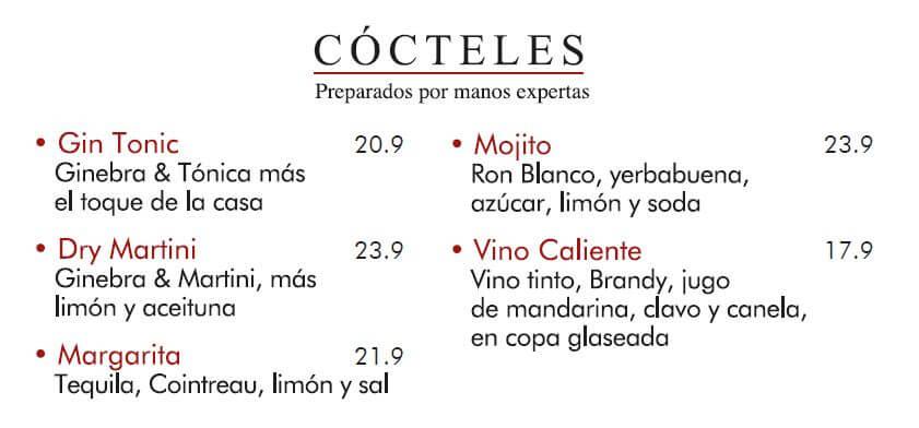 cocteles